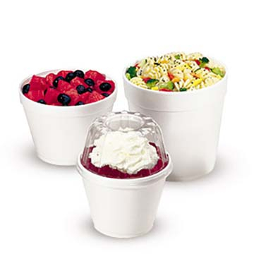 Foam Takeout Containers